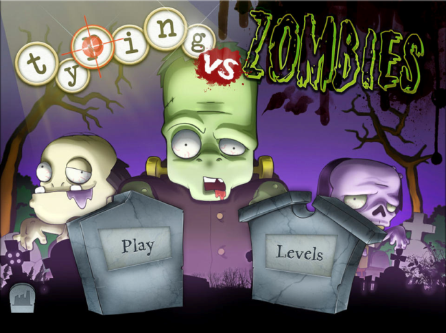 Logo for Typing vs Zombies